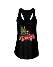 Rottweiler Christmas Car Ladies Flowy Tank thumbnail