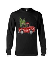 Rottweiler Christmas Car Long Sleeve Tee thumbnail