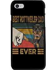Rottweiler Dad Phone Case tile