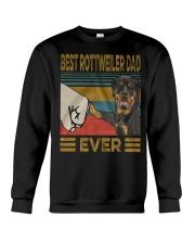 Rottweiler Dad Crewneck Sweatshirt thumbnail
