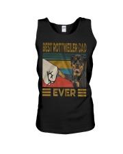 Rottweiler Dad Unisex Tank thumbnail