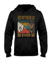Rottweiler Dad Hooded Sweatshirt tile