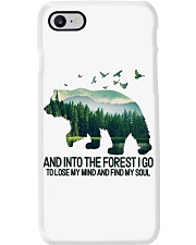 Bear And Into I Go To Lose My Mind Phone Case thumbnail