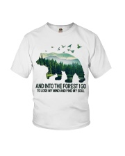 Bear And Into I Go To Lose My Mind Youth T-Shirt thumbnail