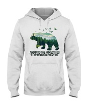 Bear And Into I Go To Lose My Mind Hooded Sweatshirt thumbnail
