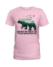 Bear And Into I Go To Lose My Mind Ladies T-Shirt thumbnail