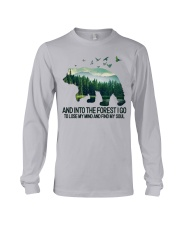 Bear And Into I Go To Lose My Mind Long Sleeve Tee thumbnail