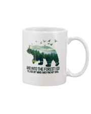 Bear And Into I Go To Lose My Mind Mug thumbnail