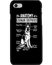 German Shepherd Anatomy Phone Case thumbnail