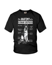 German Shepherd Anatomy Youth T-Shirt thumbnail