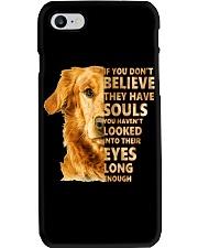 Golden Retriever Believe Phone Case thumbnail