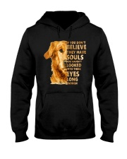 Golden Retriever Believe Hooded Sweatshirt thumbnail