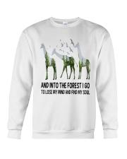 Giraffe Soul Crewneck Sweatshirt thumbnail