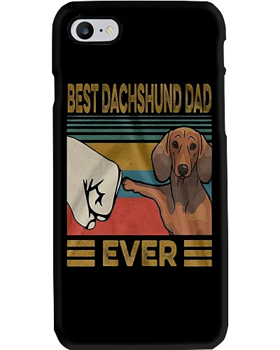 Dachshund Dad Best EVER