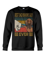 Dachshund Dad Best EVER Crewneck Sweatshirt thumbnail