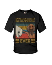 Dachshund Dad Best EVER Youth T-Shirt thumbnail