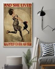 Cat Lived Happily 11x17 Poster lifestyle-poster-1