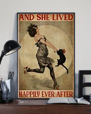 Cat Lived Happily 11x17 Poster lifestyle-poster-2