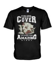 Pitbull Amazing V-Neck T-Shirt thumbnail