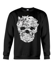 Chihuahua Skull  Crewneck Sweatshirt front