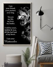 Rottweiler Friend Poster 11x17 Poster lifestyle-poster-1