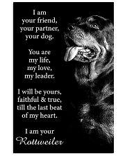 Rottweiler Friend Poster 24x36 Poster front