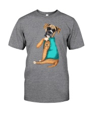 Boxer Mom  Classic T-Shirt front