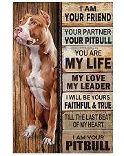 Pitbull Partner 11x17 Poster front