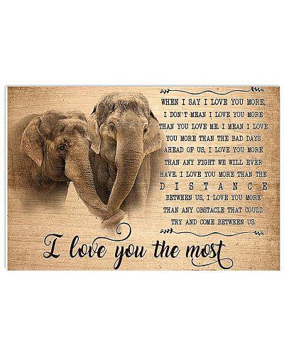 Elephant I Love You The Most