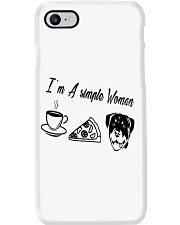 A Simple Woman Rottweiler Phone Case thumbnail