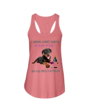Woman Also Need Rottweiler  Ladies Flowy Tank thumbnail