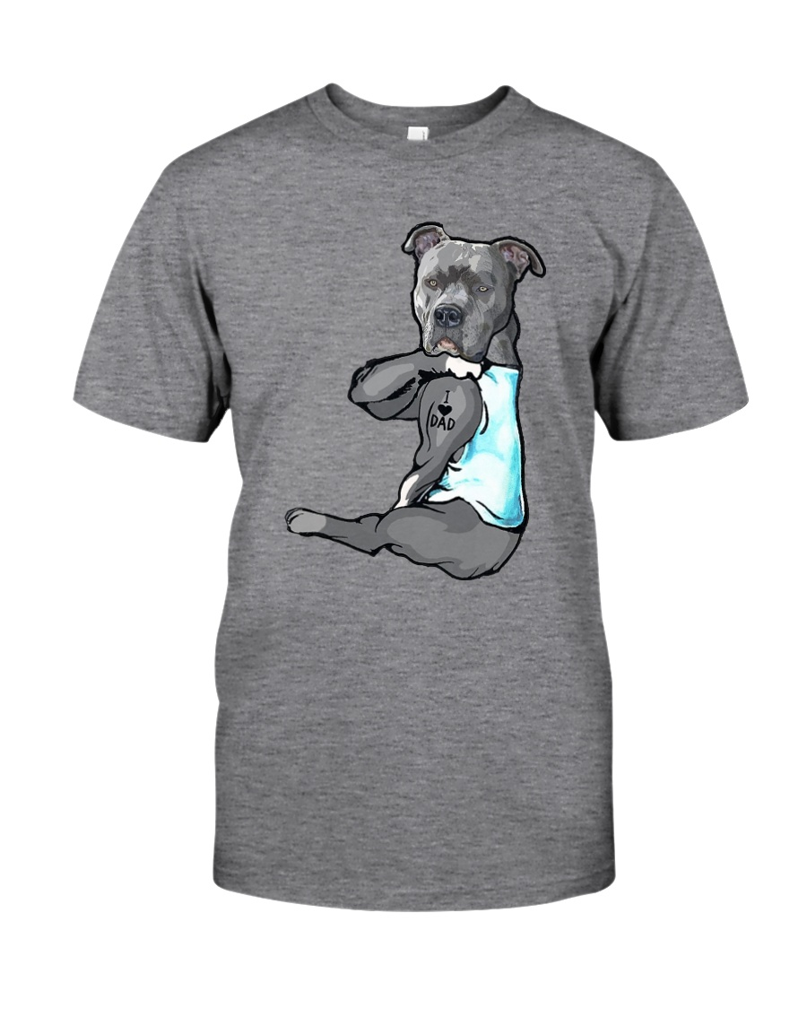Pitbull Dad Classic T-Shirt
