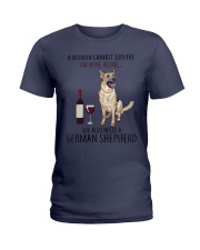 Woman Need Gsd Ladies T-Shirt thumbnail