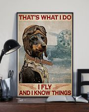 Dachshund i Fly 11x17 Poster lifestyle-poster-2