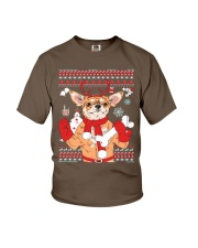 Chihuahua Christmas Youth T-Shirt tile