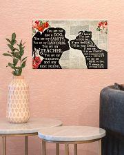 Pitbull Girl Therapist Best Friend 17x11 Poster poster-landscape-17x11-lifestyle-21