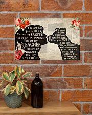 Pitbull Girl Therapist Best Friend 17x11 Poster poster-landscape-17x11-lifestyle-23