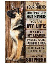 German Shepherd Friend 11x17 Poster front