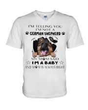 i'm Baby German Shepherd V-Neck T-Shirt thumbnail