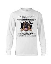 i'm Baby German Shepherd Long Sleeve Tee thumbnail