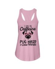 Pug Hair Ladies Flowy Tank thumbnail