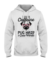 Pug Hair Hooded Sweatshirt thumbnail