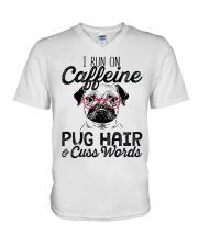 Pug Hair V-Neck T-Shirt thumbnail