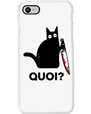 Chat Quoi  Phone Case thumbnail