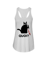 Chat Quoi  Ladies Flowy Tank thumbnail