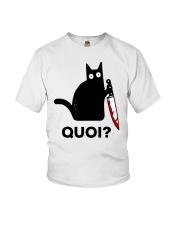 Chat Quoi  Youth T-Shirt thumbnail