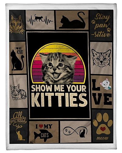Show Me Your Kitties Blanket