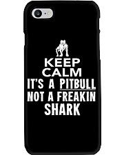 Pitbull Its Not Shark Phone Case thumbnail