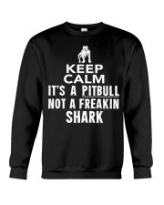 Pitbull Its Not Shark Crewneck Sweatshirt thumbnail