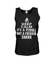 Pitbull Its Not Shark Unisex Tank thumbnail